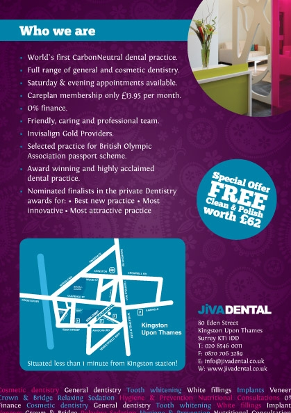 Jiva Dental Special Offer